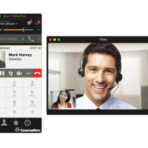 VoIP Softphone Bria (Win/Mac/Linux)
