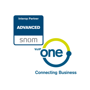 Wir sind Snom Advanced Interoperability Partner