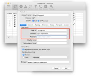VoIP-Software-Telefon Beispiel 1