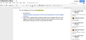 UCC Google Docs