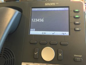 Snom 760 Ready To Dial
