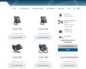 VoIP-One Shop Schweiz
