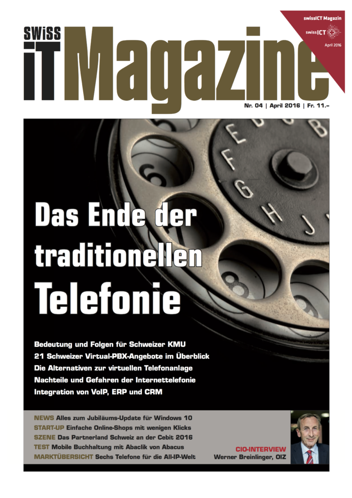 Swiss IT Magazine VoIP April