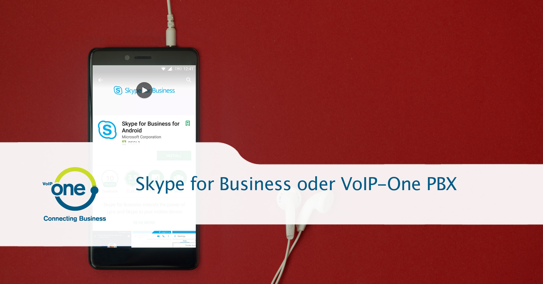 Skype for Business oder VoIP-One PBX