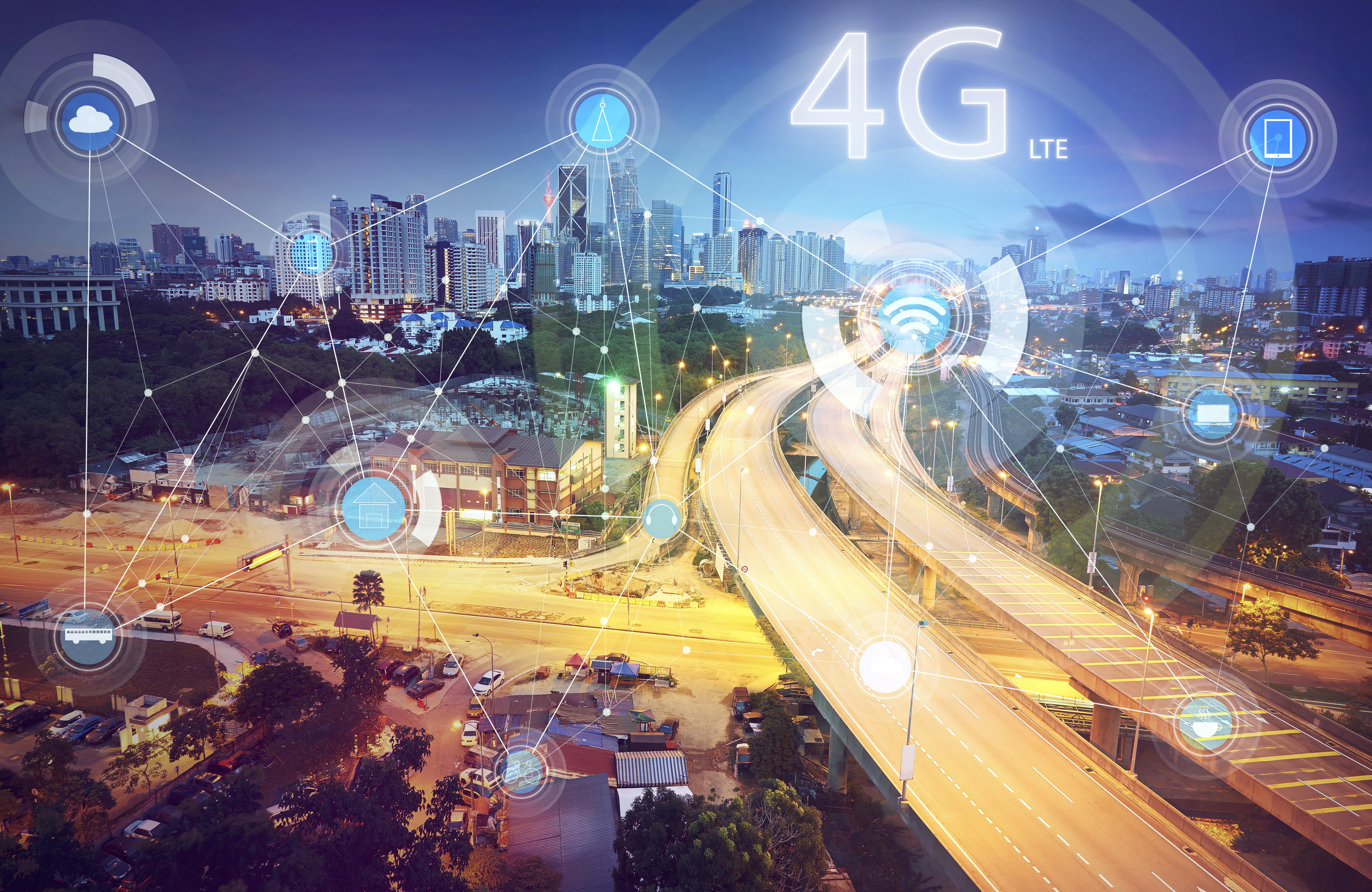 4G LTE City VoLTE