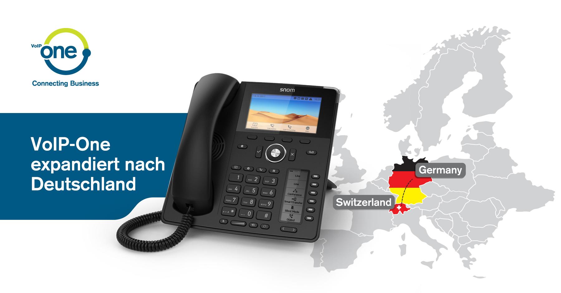 Schweizer VoIP-Anbieter expandiert nach Deutschland