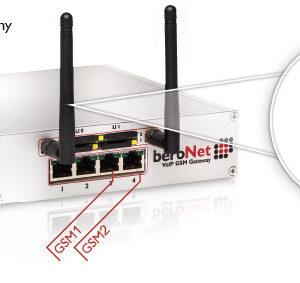 beroNet VoIP-GSM-Gateway 2-/4-Port