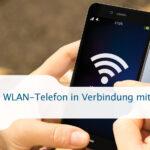 WLAN-Telefon in Verbindung mit VoIP heute
