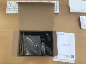 Gigaset C430 Review Box Open