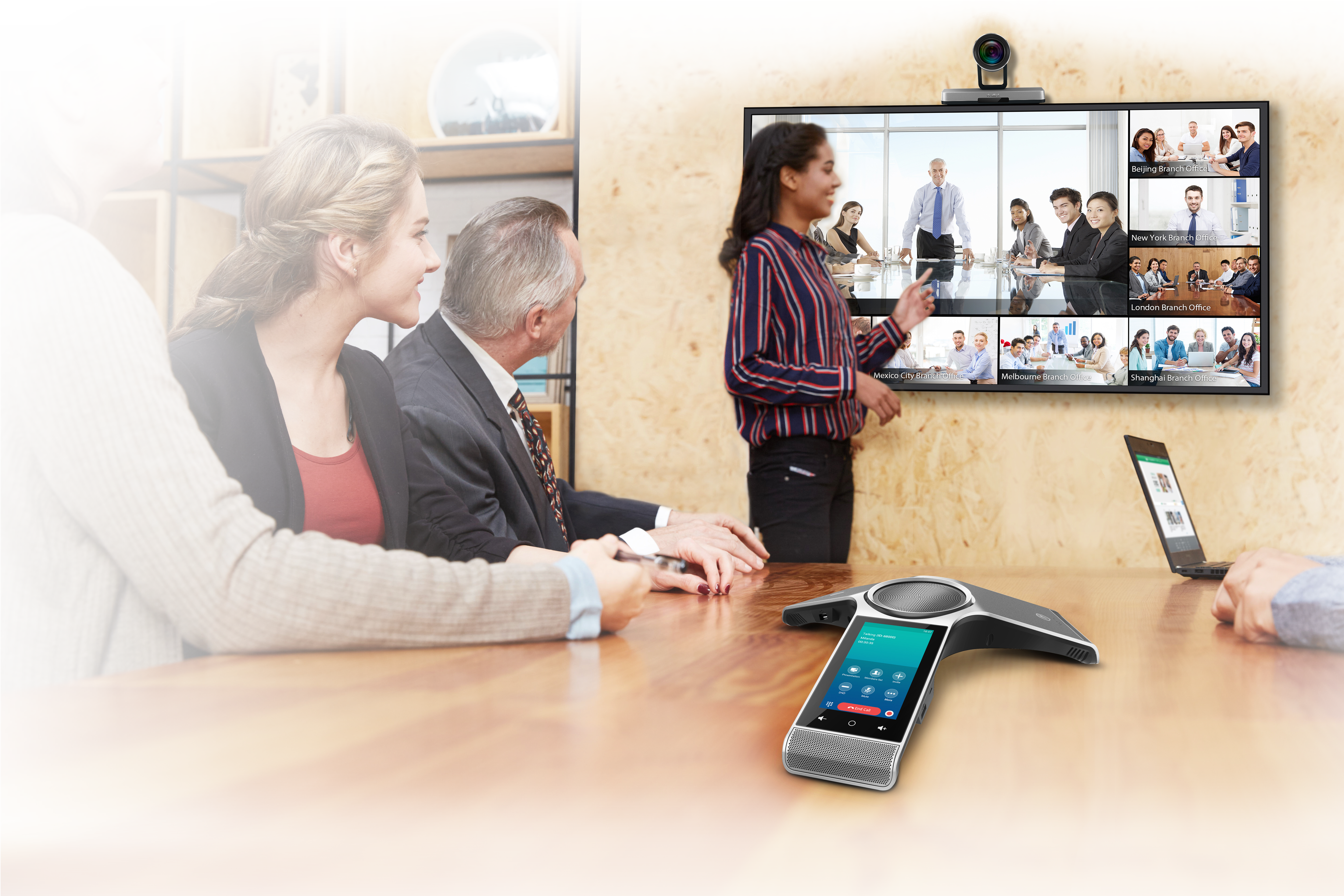 Yealink VC800 Video Conference Scenario