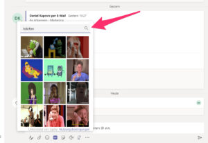 Microsoft Teams - Chat GIFs
